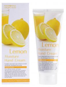 FoodaHolic Увлажняющий крем для рук с натуральным экстрактом лимона, 100 мл