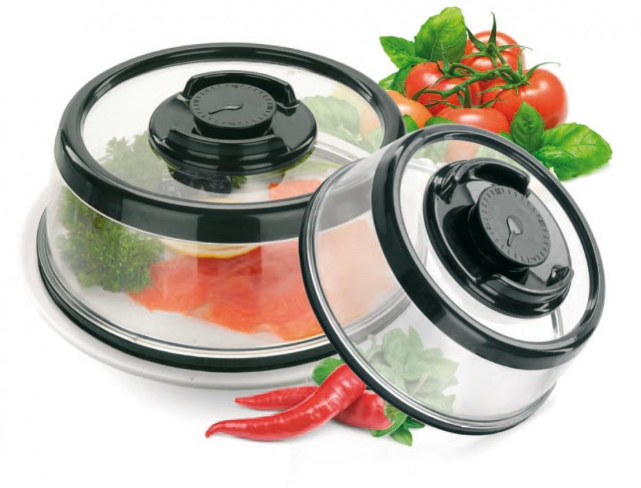 Набор вакуумных крышек-прессов Bradex, TK 0167TK 0167Каждая хозяйка знает, как сложно подготовить праздничный стол, поскольку большинство блюд необходимо готовить непосредственно перед приходом гостей. Теперь все намного проще: Вы сможете подготовить все заранее, а мясо, сыры, салаты и даже свежие овощи останутся такими же вкусными и аппетитными благодаря вакуумным крышкам-прессам. Набор вакуумных крышек-прессов является незаменимым помощником не только при подготовке к торжествам, но и в повседневной жизни. Только представьте, что для сохранения свежести продуктов Вам нужно всего лишь накрыть крышкой тарелку, сковороду, кастрюлю или разделочную доску и нажать на кнопку, создающую вакуум под крышкой. Больше никаких пакетов, контейнеров, фольги и пленки. Преимущества: • Надолго сохраняют свежесть продуктов благодаря созданию вакуума • Не позволяют блюдам впитать посторонние запахи • Могут использоваться в микроволновой печи • Горячие блюда под крышкой дольше сохранят свою температуру, дожидаясь Вашу семью к ужину • В комплект входят...