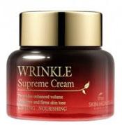 THE SKIN HOUSE Питательный крем разглаживающий морщины с женьшенем WRINKLE SUPREME, 50 мл822852Питательный крем разглаживающий морщины с женьшенем 50мл Экстракты 9 разновидностей редких грибов (антиоксидантное воздействие) и Женьшеня обеспечат кожу необходимым питанием. Вы почувствуете, что кожа стала более эластичной после первого же применения крема. В грибных экстрактах содержатся антиоксиданты для разглаживания морщин и предупреждения появления новых. В креме также содержится экстракт корня женьшеня, обеспечивающий коже длительное питание и придающий ей ухоженный и здоровый вид. Этот крем – «маст-хэв» для тех, кому нужно восстановить усталую, тусклую кожу.