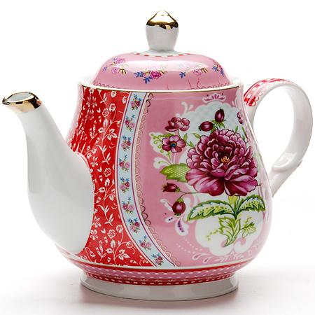 24 Заварочный чайник 1100мл с/кр керам LR (х12)24Заварочный чайник Материал: керамика Рисунок: цветы Размер коробки: 22 х 16,5 х 15 см Объем: 1100 мл Вес: 550 г Количество: 2 предмета Заварочный чайник поможет вам в приготовлении вкусного и ароматного чая, а также станет украшением вашей кухни. Яркий дизайн придает чайнику особый шарм, он удобен в использовании и понравится каждому. Такой заварочный чайник станет приятным и практичным подарком на любой праздник.