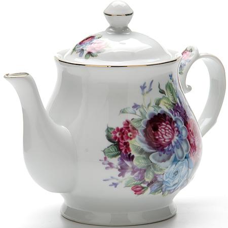 24581 Заварочный чайник 800мл с/кр керам LR (х12)24581Заварочный чайник Материал: керамика Рисунок: цветы Размер коробки: 21 х 16 х 12,5 см Объем: 800 мл Вес: 500 г Количество: 2 предмета Заварочный чайник поможет вам в приготовлении вкусного и ароматного чая, а также станет украшением вашей кухни. Яркий дизайн придает чайнику особый шарм, он удобен в использовании и понравится каждому. Такой заварочный чайник станет приятным и практичным подарком на любой праздник.