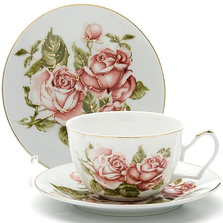 24599 Чайная пара 2пр 250мл ЦВЕТОК LR (х24)24599Чайная пара (2 чашки+2 блюдце) Материал: керамика Рисунок: розы Объем чашки: 250 мл Вес: 560 г Размер коробки: 22 х 15,5 х 10 см Этот чайный набор, выполненный из керамики, состоит из 2 чашки и 2 блюдце. Предметы набора офрмлены ярким изображением цветов.Изящный дизайн и красочность оформления придутся по вкусу и ценителям классики, и тем, кто предпочитает утонченность и изысканность. Чайный набор - идеальный и необходимый подарок для вашего дома и для ваших друзей в праздники, юбилеи и торжества! Он также станет отличным корпоративным подарком и украшением любой кухни. Чайный набор упакован в подарочную коробку из плотного цветного картона. Внутренняя часть коробки задрапирована белым атласом.