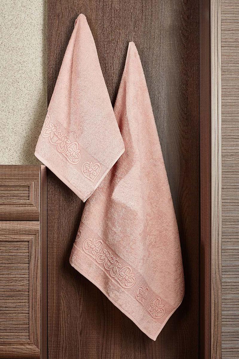 Полотенце махровое Primavelle Deni, цвет: чайная роза, 70 х 140 см2857014-D09Махровое полотенце Primavelle Deni - невероятно стильный и современный аксессуар для вашей ванной. Полотенце, изготовленное из натурального хлопка, подарит массу положительных эмоций и приятных ощущений. Изделие отличается нежностью и мягкостью материала, утонченным дизайном и превосходным качеством. Оно прекрасно впитывает влагу, быстро сохнет и не теряет своих свойств после многократных стирок. Махровое полотенце Primavelle Deni станет достойным выбором для вас и приятным подарком для ваших близких.