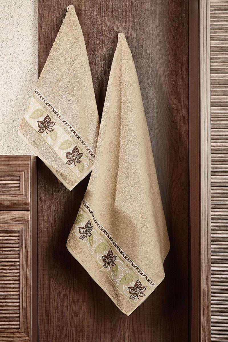 Полотенце махровое Primavelle Lea, цвет: светло-коричневый, 70 х 140 см2857014-L06Махровое полотенце Primavelle Lea, изготовленное из натурального хлопка с цветочным узором, подарит массу положительных эмоций и приятных ощущений. Полотенце отличается нежностью и мягкостью материала, утонченным дизайном и превосходным качеством. Оно прекрасно впитывает влагу, быстро сохнет и не теряет своих свойств после многократных стирок. Махровое полотенце Primavelle Lea станет достойным выбором для вас и приятным подарком для ваших близких.