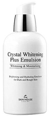 THE SKIN HOUSE Осветляющая эмульсия против пигментации CRYSTAL WHITENING, 130 мл (The Skin House)