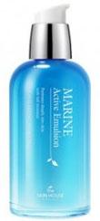 THE SKIN HOUSE Эмульсия для лица с керамидами MARINE ACTIVE, 130 мл822715Эмульсия для лица с керамидами, 130мл Гиалуроновая кислота и керамид III увлажняют и укрепляют кожу, благодаря чему эмульсия питает и насыщает влагой даже глубокие слои кожи. А за счет содержания глубоководной воды и экстракта морских водорослей, кожа быстрее впитывает и поглощает питательные вещества, заряжаясь силой и энергия, становясь увлажненной и сияющей. Эмульсия быстро впитывается, без ощущения липкости, оставляя после себя чувство свежести в течении долгого времени.