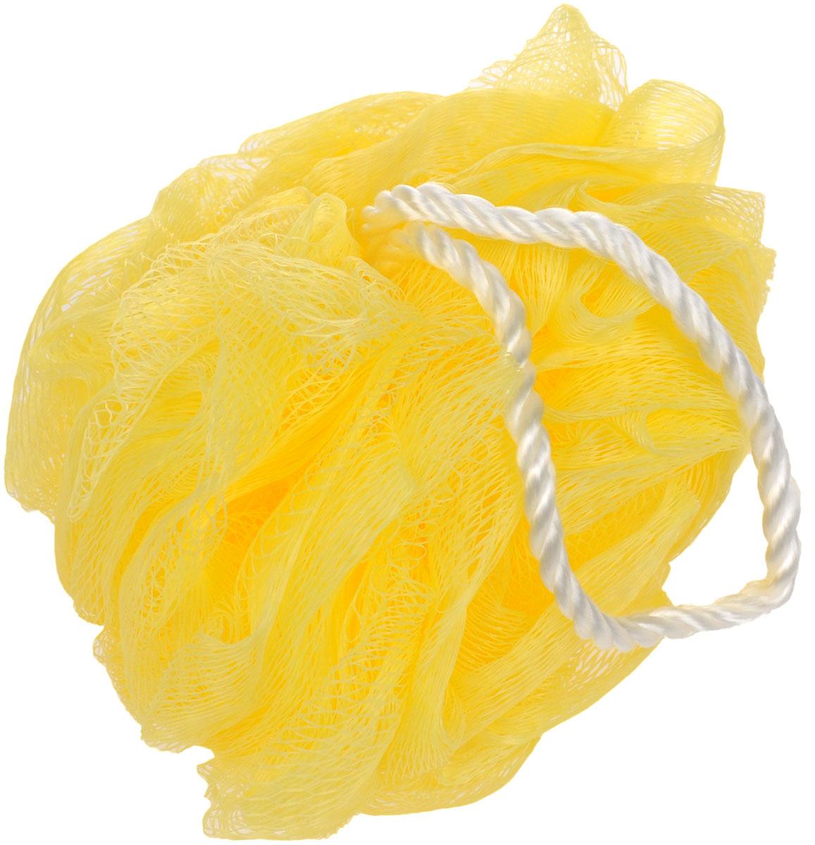 Мочалка Eva Бантик, диаметр 11 см, цвет: желтыйМС45_желтыйМочалка Eva Бантик, выполненная из нейлона, предназначена для мягкого очищения кожи. Она станет незаменимым аксессуаром ванной комнаты. Мочалка отлично пенится, обладает легким массажным воздействием, идеально подходит для нежной и чувствительной кожи. На мочалке имеется удобная петля для подвешивания. Диаметр: 11 см.