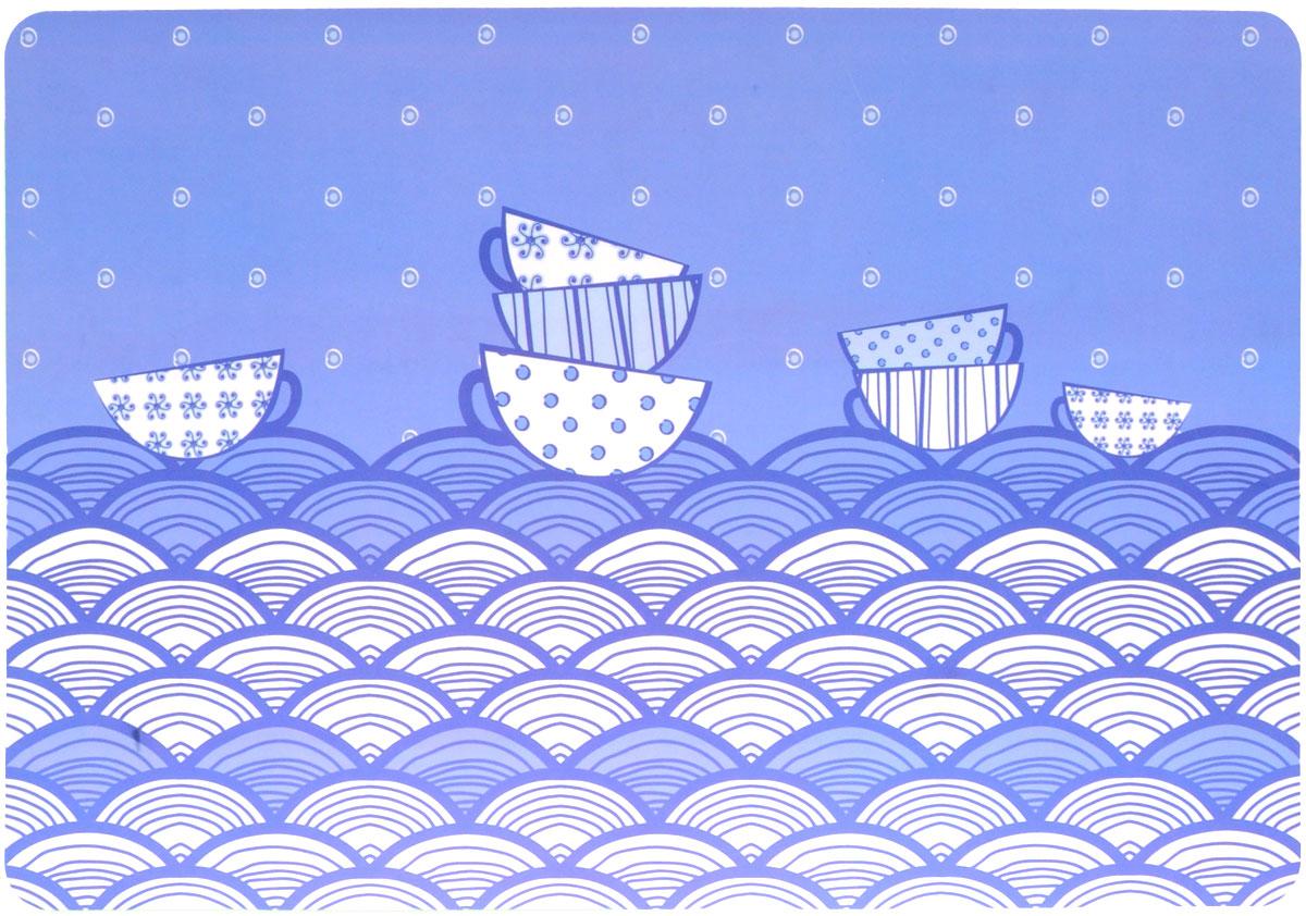 Термосалфетка Home Queen Чашки, 43 х 28 см57452_голубой, белыйТермосалфетка Home Queen Чашки, изготовленная из полипропилена, прекрасно подойдет для сервировки стола. Салфетка декорирована изображением чашек. Поверхность матовая. Термосалфетки защищают поверхность стола от воздействия температур, влаги и загрязнений. Могут использоваться для детского творчества (рисования, лепки из пластилина) в качестве защитного покрытия, а также как подставки под вазы, кухонные приборы и другое. Стильный дизайн красиво дополнит интерьер помещения.