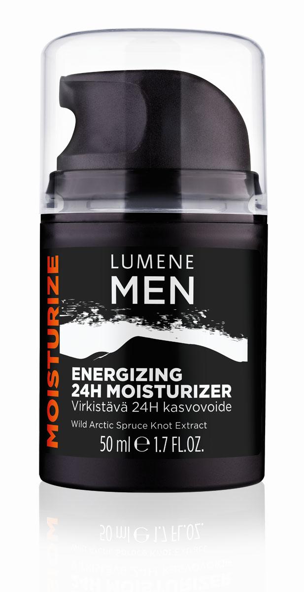 LUMENE Энергетический увлажняющий крем 24 часа Lumene Men, 50 мл.NL693-80037Эффективно очищает кожу от загрязнений. Делает процесс бритья более гигиеничным. Бодрящий аромат заряжает энергией.
