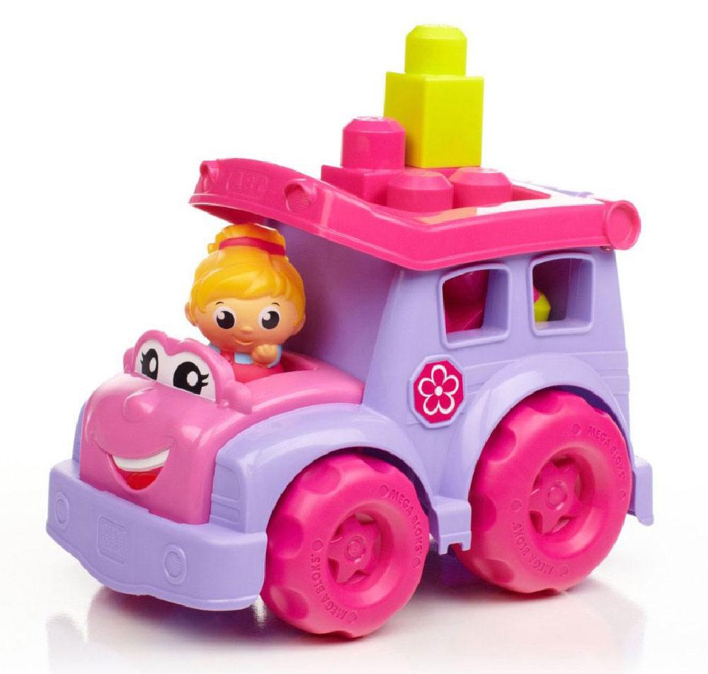 Mega Bloks First Builders Конструктор Маленькие транспортные средства Школьный автобусCXP13_DBL83Удивите свою малышку оригинальным конструктором в симпатичной фиолетовой машинке от Mega Bloks! Яркий автобус создан специально для девочек. Машинка имеет большие колеса и откидывающийся верх, в котором можно перевозить блоки от конструктора. Идеальная игрушка для детей от 1 до 5 лет! В комплект входит машинка, фигурка и 6 блоков.
