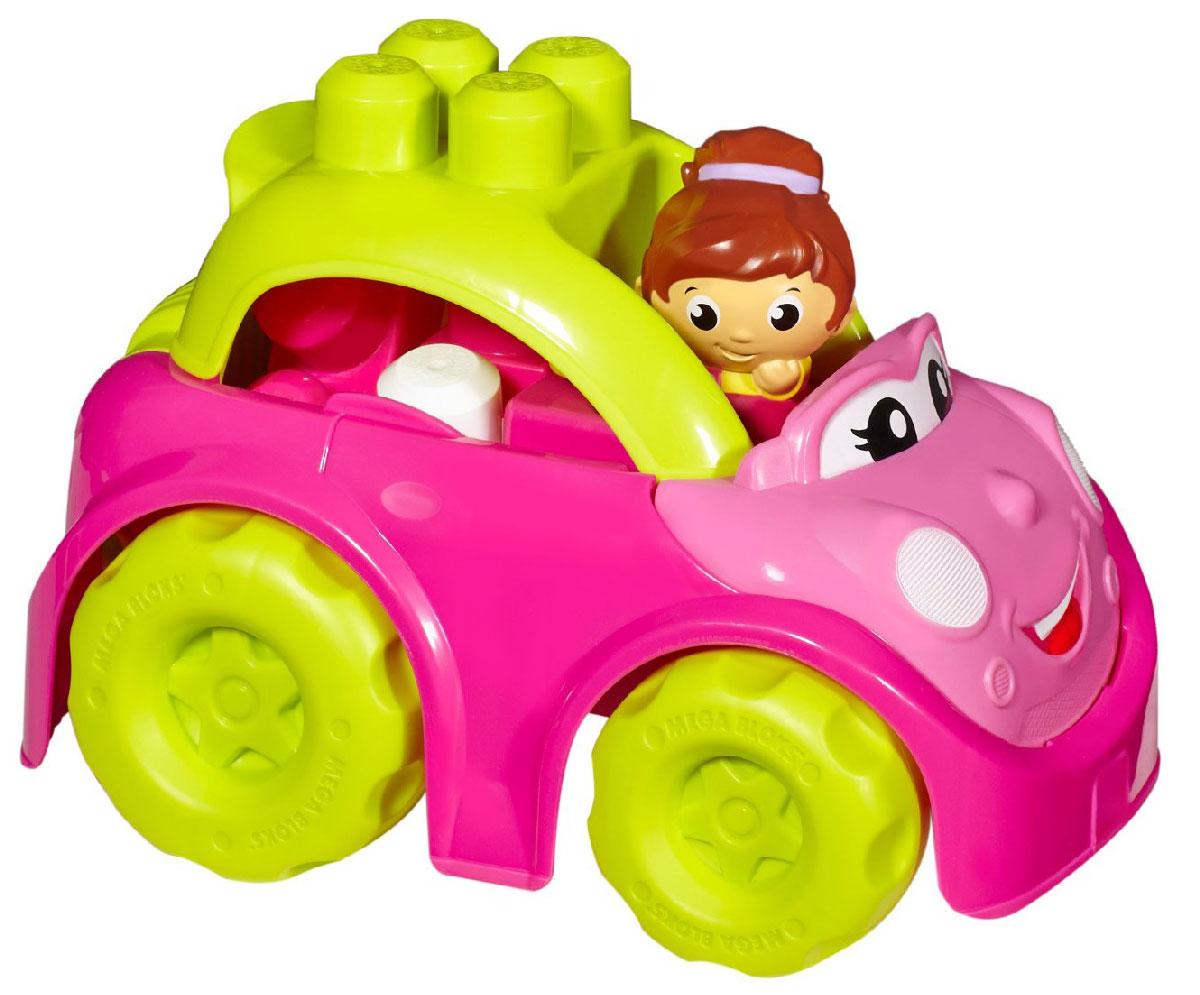 Mega Bloks First Builders Конструктор Маленькие транспортные средства КабриолетCND84_CND37 (CXP13)Удивите свою малышку оригинальным конструктором в симпатичной розовой машинке от Mega Bloks! Яркий кабриолет создан специально для девочек. Машинка имеет большие колеса и откидывающийся верх, в котором можно перевозить блоки от конструктора. Идеальная игрушка для детей от 1 до 5 лет! В комплект входит машинка, фигурка и 6 блоков.