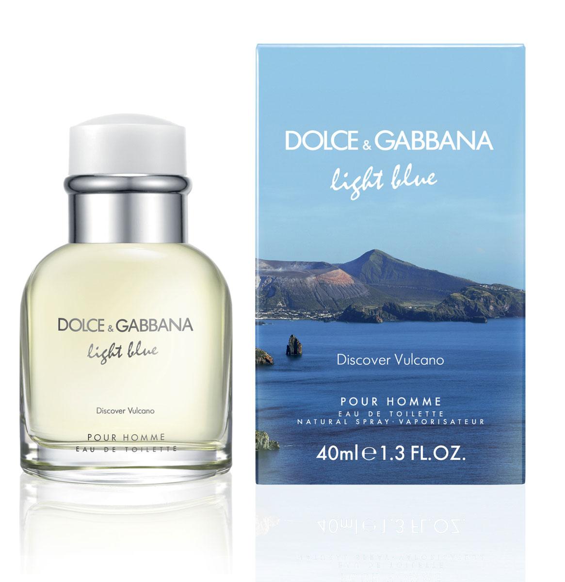 Dolce&Gabbana Light Blue Vulcano Туалетная вода 40 мл0737052758701МУЖЕСТВЕННЫЙ ДРЕВЕСНЫЙ аромат, вдохновленный летними ночами Средиземноморья