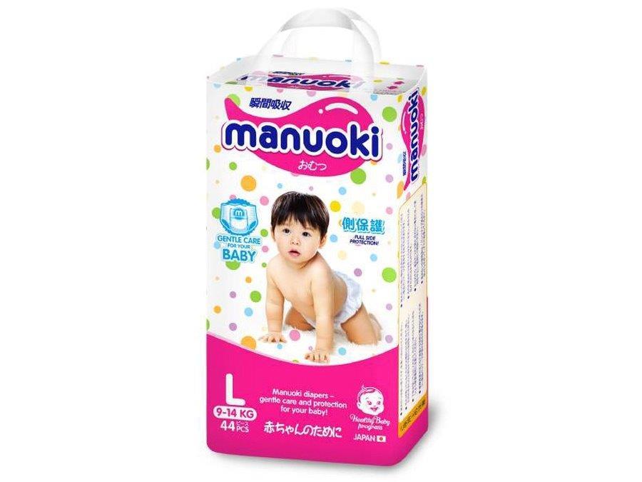 Manuoki подгузники-трусики размер L 9-14 кг 44 шт4987072026274Бренд: MANUOKI зародился в стране восходящего солнца и признанного качества – Японии. Продукция разрабатывалась для внутреннего рынка, что красноречиво говорит о том, что для MANUOKI были использованы не только самые лучшие материалы, но и современные технологии! Эти подгузники были созданы специально для частной торговой марки Японии – одной из крупнейших торговых сетей, а значит, производитель не экономил на компонентах, обеспечивающих безопасность, комфорт и удобство в применении. Японцы, как известно, лучше других производителей предметов детской гигиены понимают, что от качества их исполнения зависит не только здоровье малыша, но и спокойствие мамы. В основе одноразового подгузника MANUOKI лежит впитывающий, состоящий из современного и высокотехнологичного абсорбента слой, который поглощает жидкость, превращая ее в гель, который запирает ее в себе навсегда. Даже большой объем не страшен этим супер-впитывающим трусикам! Устроены универсальные трусики-подгузники MANUOKI следующим...