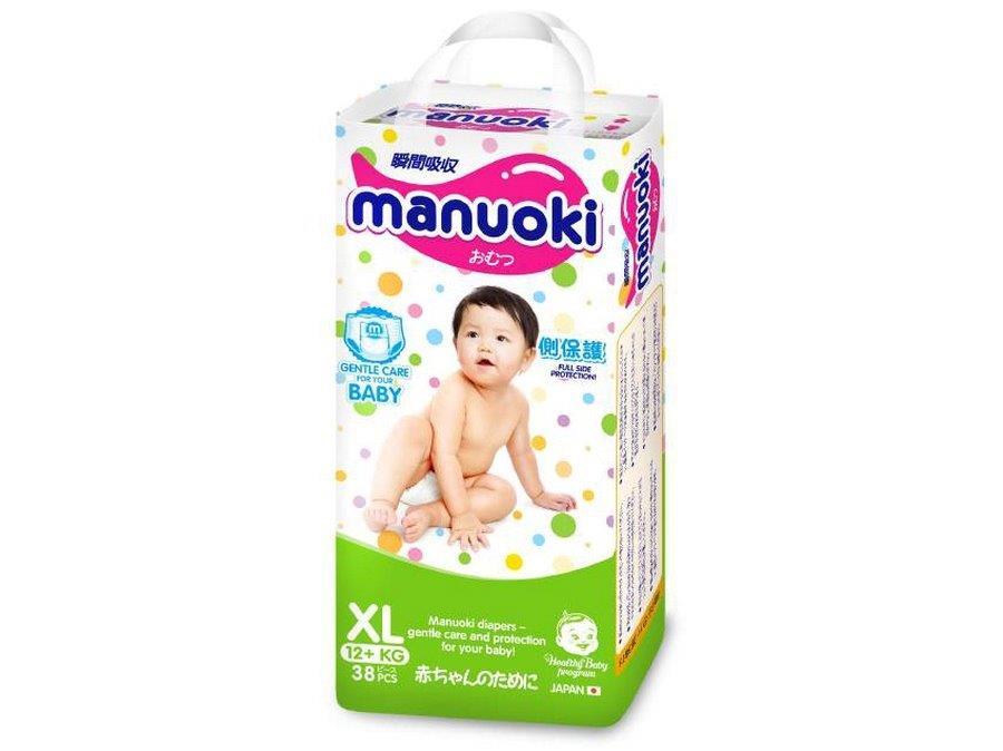 Manuoki подгузники-трусики размер XL от 12 кг 38 шт4987072026281Бренд: MANUOKI зародился в стране восходящего солнца и признанного качества – Японии. Продукция разрабатывалась для внутреннего рынка, что красноречиво говорит о том, что для MANUOKI были использованы не только самые лучшие материалы, но и современные технологии! Эти подгузники были созданы специально для частной торговой марки Японии – одной из крупнейших торговых сетей, а значит, производитель не экономил на компонентах, обеспечивающих безопасность, комфорт и удобство в применении. Японцы, как известно, лучше других производителей предметов детской гигиены понимают, что от качества их исполнения зависит не только здоровье малыша, но и спокойствие мамы. В основе одноразового подгузника MANUOKI лежит впитывающий, состоящий из современного и высокотехнологичного абсорбента слой, который поглощает жидкость, превращая ее в гель, который запирает ее в себе навсегда. Даже большой объем не страшен этим супер-впитывающим трусикам! Устроены универсальные трусики-подгузники MANUOKI следующим...