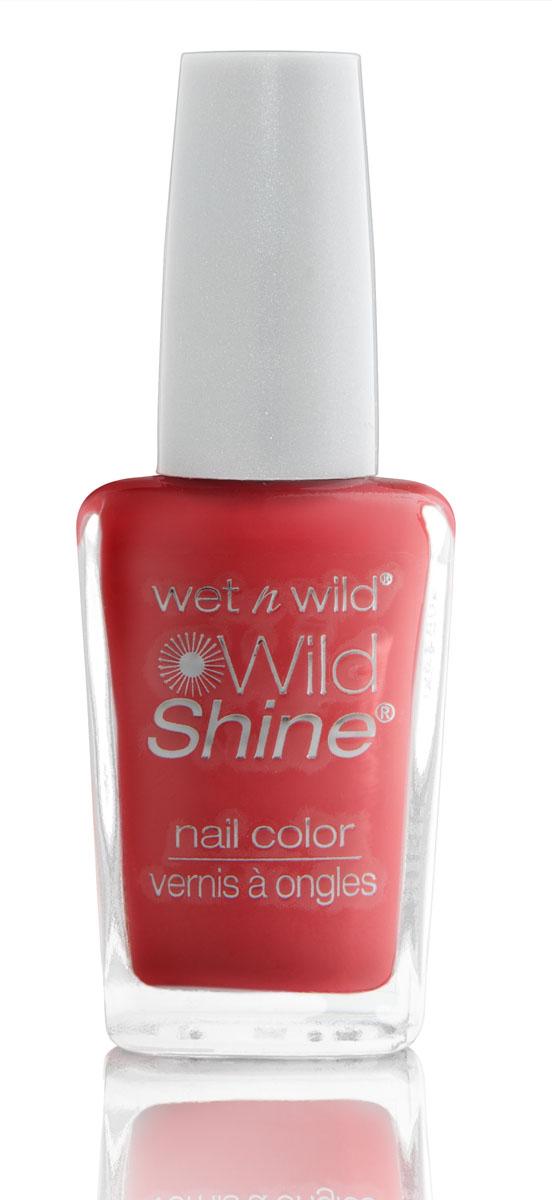 Wet n Wild Лак Для Ногтей Wild Shine Nail Color dreamy poppy 13 мл ( E429D )