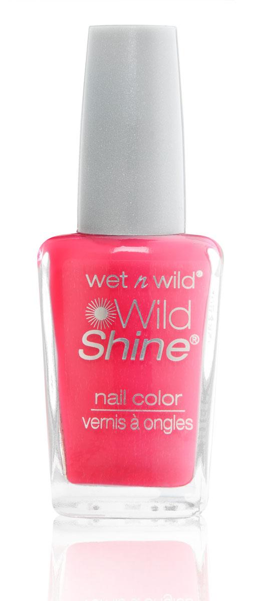 Wet n Wild Лак Для Ногтей Wild Shine Nail Color lavender creme 13 млE454D