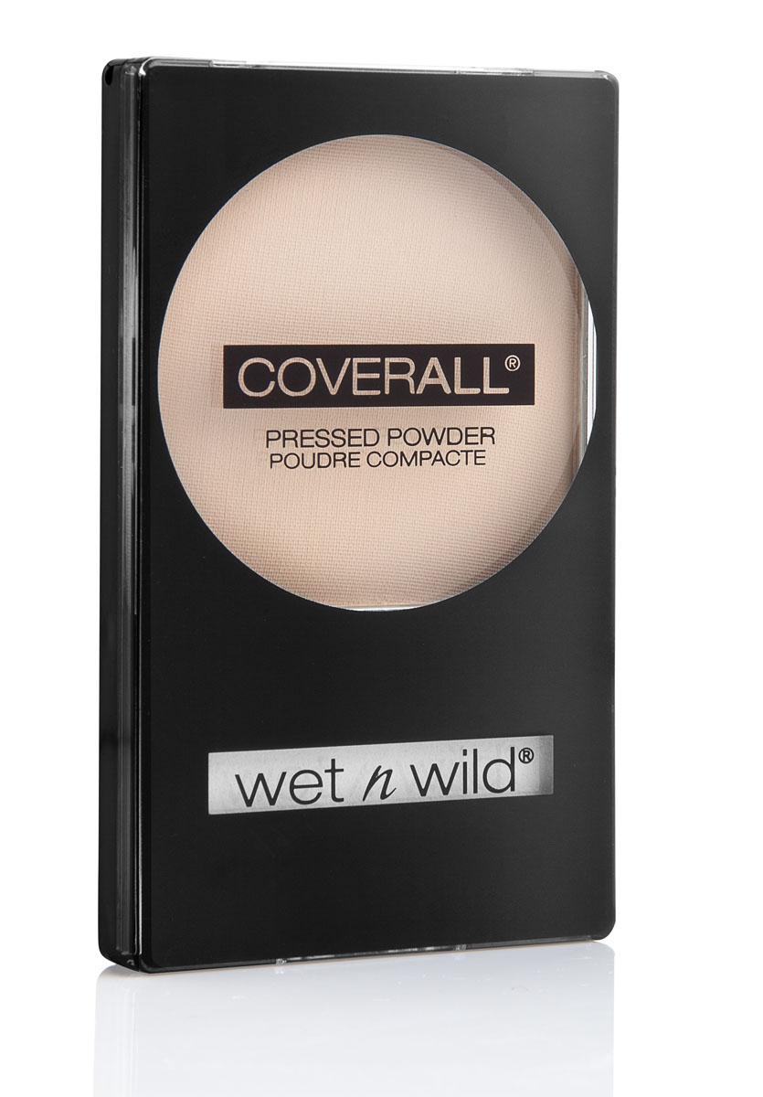 Wet n Wild Компактная Пудра Для Лица Coverall Pressed Powder fair light 8 грE822BДает ровный бархатистый и натуральный оттенок, создавая натуральный макияж, одновременно матируя кожу и придавая ей эффект персиковой кожи. Совет по макияжу: нанесите пудру непосредственно на кожу для натурального бархатистого эффекта или на тональный крем для более законченного макияжа.