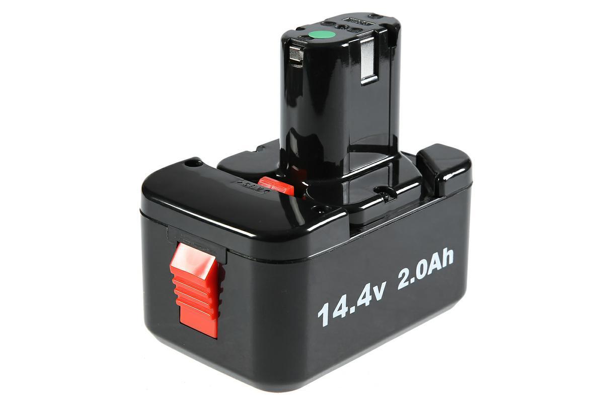 Аккумулятор HAMMER AB144 14.4В 2.0Ач для HAMMER PREMIUM (ACD144 и ACD144C)136258Аккумуляторная батарея Hammer AB144 предназначена для использования с аккумуляторными шуруповертами и дрелями. Работает при температуре от +5°C до +50°C. Для зарядки аккумулятора достаточно 40 минут. Изделие совместимо с дрелью Hammer ACD144 и ACD144C.