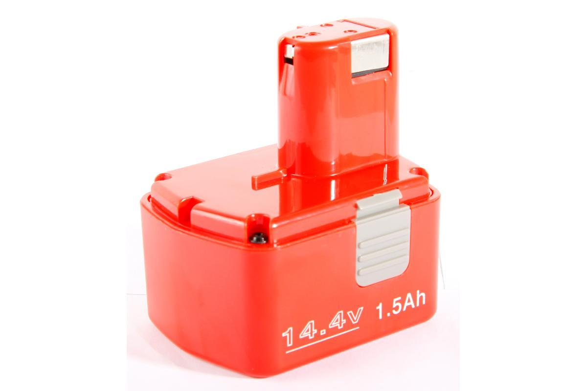 Аккумулятор Hammer Flex AKH1415 14.4В 1.5Ач для HITACHI30547Аккумуляторная батарея Hammer AKH1415 предназначена для использования с аккумуляторными шуруповертами и дрелями. Работает при температуре от +5°C до +50°C. Для зарядки аккумулятора достаточно 40 минут. Совместимые модели: Hitachi: DS14DVB2, WR14DMR, DS14DMR, DS14DVB, DS14DVB2, DS14DVF2, DS14DVF3, DS14DFL, DS14DFLPC, DS14DL, DV14DMR, DV14DV, DV14DCL, DV14DL, G14DL, UB18D, UB18DL, WH14DAF2, WH14DM, WH14DMR, WH14DSL, WR14DH, WR14DM, WR14DMR.