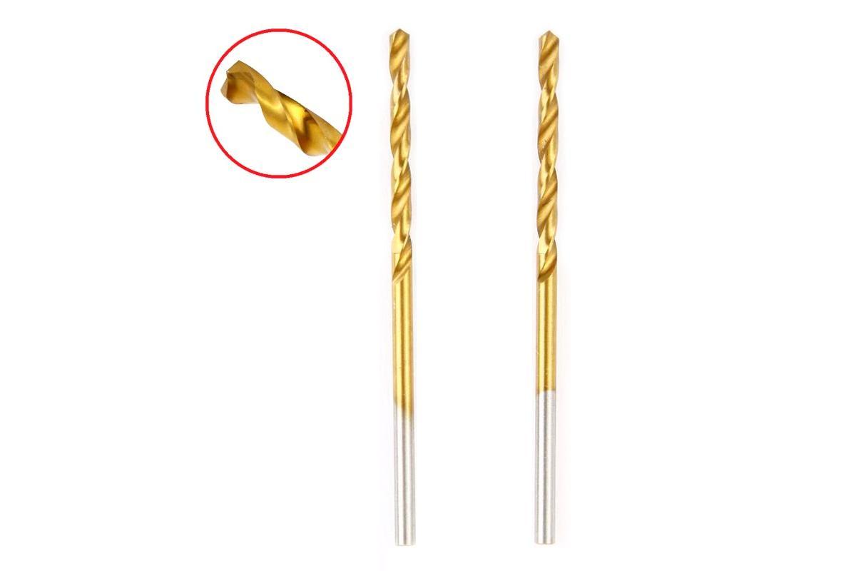 Сверло Hammer Flex 202-103 DR MT 2,0мм*49/24мм (2pcs) металл, DIN338, HSS-G, TIN, 2шт.30788Сверла по металлу Hammerflex выполнены из HSS-G высококачественной быстрорежущей инструментальной стали. Стандарт сверла DIN 338. Угол заточки 135° обеспечивает высокую скорость сверления и центровку сверла. Покрытие нитрида титана TIN придает дополнительную прочность и увеличивает ресурс сверла. Шлифовка сверла обеспечивает высокое качество обработки стенок отверстий и оптимальное выведение шлама. Длина рабочей части: 24 мм.