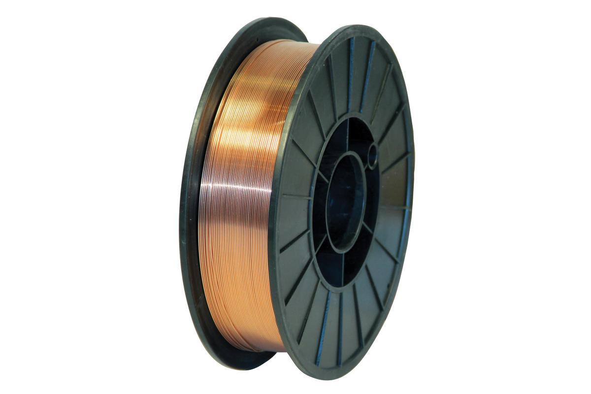 Проволока сварочная WESTER SW 10500 омедненная 1.0мм, 5кг45588Стальная омедненная проволока Wester применяется для сварки в любом пространственном положении низкоуглеродистых и высокопрочных (490МПа) сталей в среде защитного газа. Проволока поставляется в катушке диаметром 200 мм. Соответствует стандарту AWS ER70S-6. Газовая смесь: C1/M21, CO2. Защитный газ: 100% CO2, CO2/Ar. Механические свойства: Предел текучести: 425 МПа. Предел прочности: 532 МПа. Относительное удлинение: 32%. Ударная вязкость: 89°С (-29). Химический состав: Углерод: 0,06-0,14%. Марганец: 1,4-1,6%. Кремний: 0,8-1%. Фосфор: 0,025%. Сера: 0,025%. Никель: 0,15%. Молибден: 0,15%. Алюминий: 0,02%. Титан + Цирконий: 0,15%.