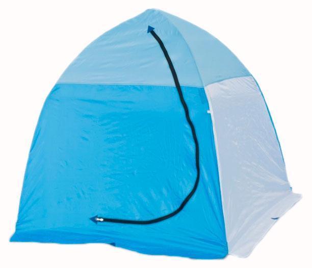 Палатка рыбака 1-м п/автомат н/тк, Стэк, белый/голубой