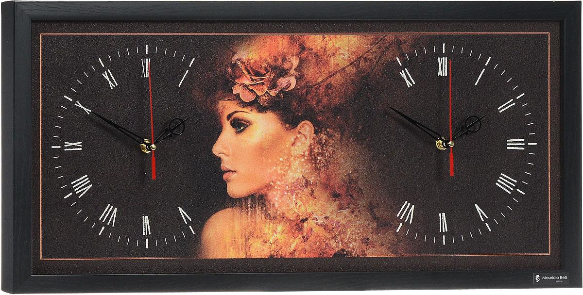 Настенные часы из песка Mauricio Relli Indovinello ST-915, размер 63х30ST-915Настенные кварцевые часы Indovinello ST-915 своим эксклюзивным дизайном подчеркнут оригинальность интерьера вашего дома. Часы прямоугольной формы оформлены фактурным рисунком. Рисунок выполнен из песка вручную. Благодаря материалу исполнения, изображение получается объемным и реалистичным. Часы обрамлены рамкой. Часы имеют два циферблата, на каждом из которых по три стрелки - часовая, минутная и секундная. На обратной стороне расположена металлическая петелька для подвешивания. Часы Indovinello ST-915 будут интересно смотреться как в офисе, так и в гостиной, а необычный дизайн привнесет индивидуальность в любой интерьер. Такие часы послужат отличным подарком для ценителя практичных и оригинальных вещей. Рекомендуется докупить 1 батарейку 1,5V типа АА (в комплект не входит).