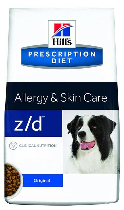 Корм сухой диетический Hills Z/D для собак, для лечения острых пищевых аллергий, 10 кг16921Сбалансированный лечебный корм для собак Hills Z/D содержит особую формулу с пониженным содержанием аллергенов, благодаря чему является щадящей диетой для собак с чувствительным пищеварением. Пищевая аллергия и непереносимость могут стать причиной таких серьезных проблем, как чувствительная или раздраженная кожа, проблемы с шерстью и ушами, расстройство пищеварения. Собаки с пищевой аллергией или непереносимостью, как правило, показывают негативную реакцию на протеины, содержащиеся в пище. Ключевые преимущества корма: - содержит легкоусвояемые протеины, снижающие риск аллергических реакций, - содержит один источник углеводов, благодаря чему обладает меньшим количеством аллергенов в своем составе. - легкоусвояемые углеводы и жиры снижают нагрузку на желудочно-кишечный тракт, - обогащен Омега-3 и Омега-6 жирными кислотами для здоровой кожи и блестящей шерсти. Рекомендации по кормлению: Монодиета не требует...