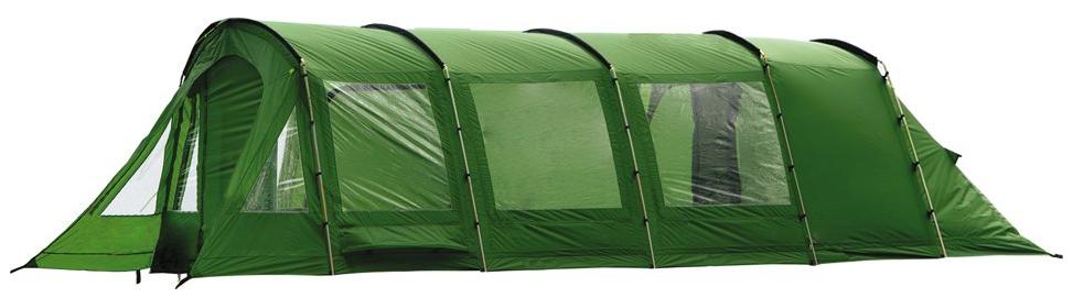 Палатка кемпинговая Husky CARAVAN 22 (на 7 персон), цвет: зеленый