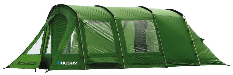 Палатка кемпинговая Husky CARAVAN 17 (на 5 персон), цвет: зеленыйУТ-000066061Палатка HUSKY CARAVAN 17 пятиместная Новинка кемпинговой линии HUSKY. Цифра 17 означает - площадь 17 кв. м. Уникальная модель характеризуется простором и высотой как в полноценной комнате. Несущая конструкция сочетает облегченные дуги из дюраврапа с фирменными стальными дугами, что дает стабильную конструкцию с приемлемым весом. Модель предназначена для длительного использования, в ней достаточно места для жилья и для хранения вещей. Дополнительная фиксация за счет оттяжек. Палатка хорошо проветривается, в стенках просторного тамбура - подьемные окна. Палатка идеальна для кемпинга семьи или компании друзей. Размеры(ширина-длина-высота): 325 х 500 х 210 см Размеры в упакованном виде: 80 х 38 х 35 см Вес(min/max): 23,3 кг / 23,6 кг Наружный тент: полиэстер 190Т, водостойкость 5000 мм.вд.ст., ленточные швы Внутренний тент: дышащий нейлон 190T и противомоскитная сетка Пол: армированный полиэтилен, водостойкость 6000 мм.вд.ст. Дуги: дюраврап (durawrap) 12,7 мм + сталь 19 мм Входы: один...