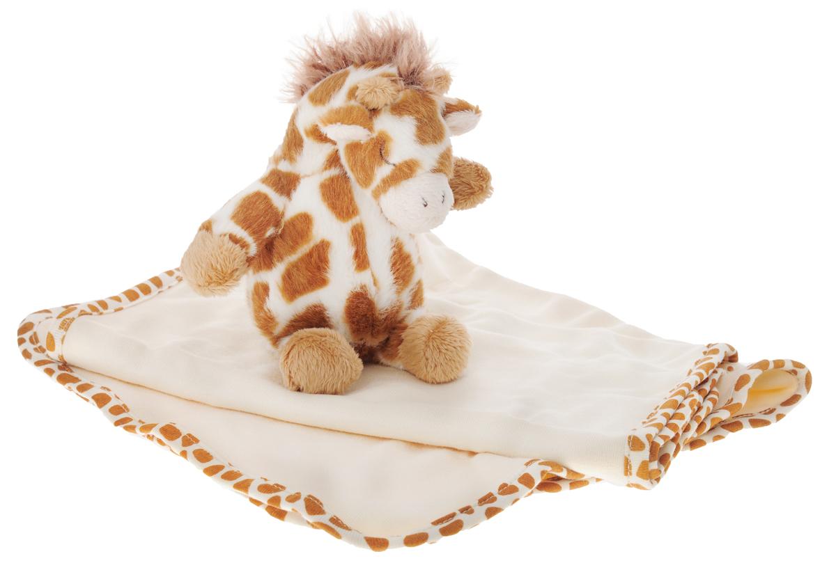 Подарочный набор в коробке Cloud B 7172-GG-RU: плюшевая погремушка жирафик и 2 салфеточки (70% бамбуковое волокно, 30% хлопок)7172-GG-RUПодарочный набор в коробке: 2 салфетки (70% бамбуковое волокно, 30% хлопок) и плюшевая погремушка жирафик. Милая погремушка безопасна для малыша, ее размер идеально подходит для маленькой ручки ребенка. Две мягкие салфетки (размер 22х45 см) удобно положить на плечо для защиты одежды мамы или папы.