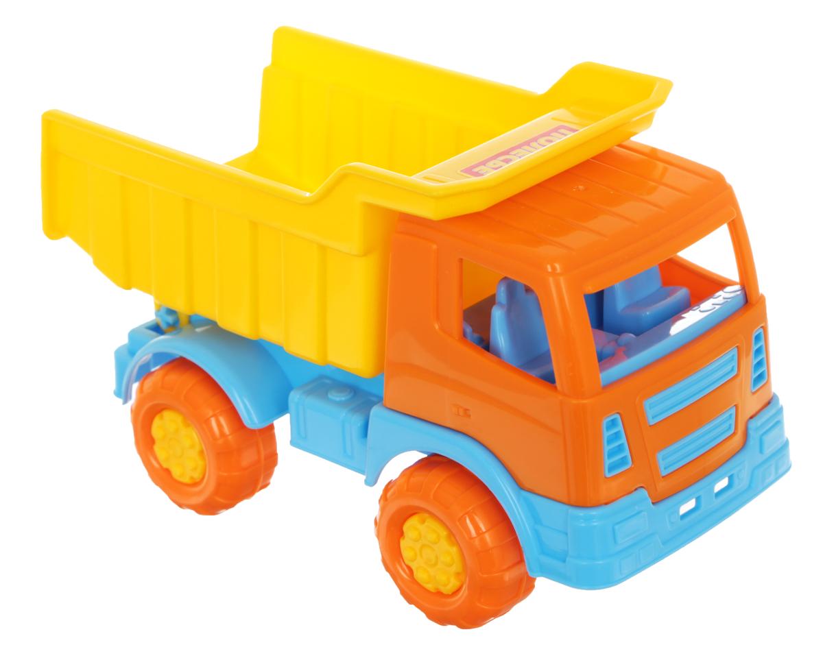 Полесье Самосвал Тема цвет желтый оранжевый3253_оранжевый, желтыйСамосвал Полесье Тема обязательно понравится вашему малышу и надолго увлечет его. Игрушка выполнена из прочного высококачественного полипропилена. Самосвал имеет просторный кузов, который можно наполнить песком или важным игрушечным грузом. Кузов откидываются, что предоставит малышу дополнительный простор для игры. Колесики машинки оснащены протектором и имеют свободный ход. Игры с такой машинкой развивают концентрацию внимания, координацию движений, мелкую моторику рук, цветовое восприятие и воображение. Малыш будет часами играть с этим самосвалом, придумывая разные истории. Порадуйте своего ребенка таким замечательным подарком!