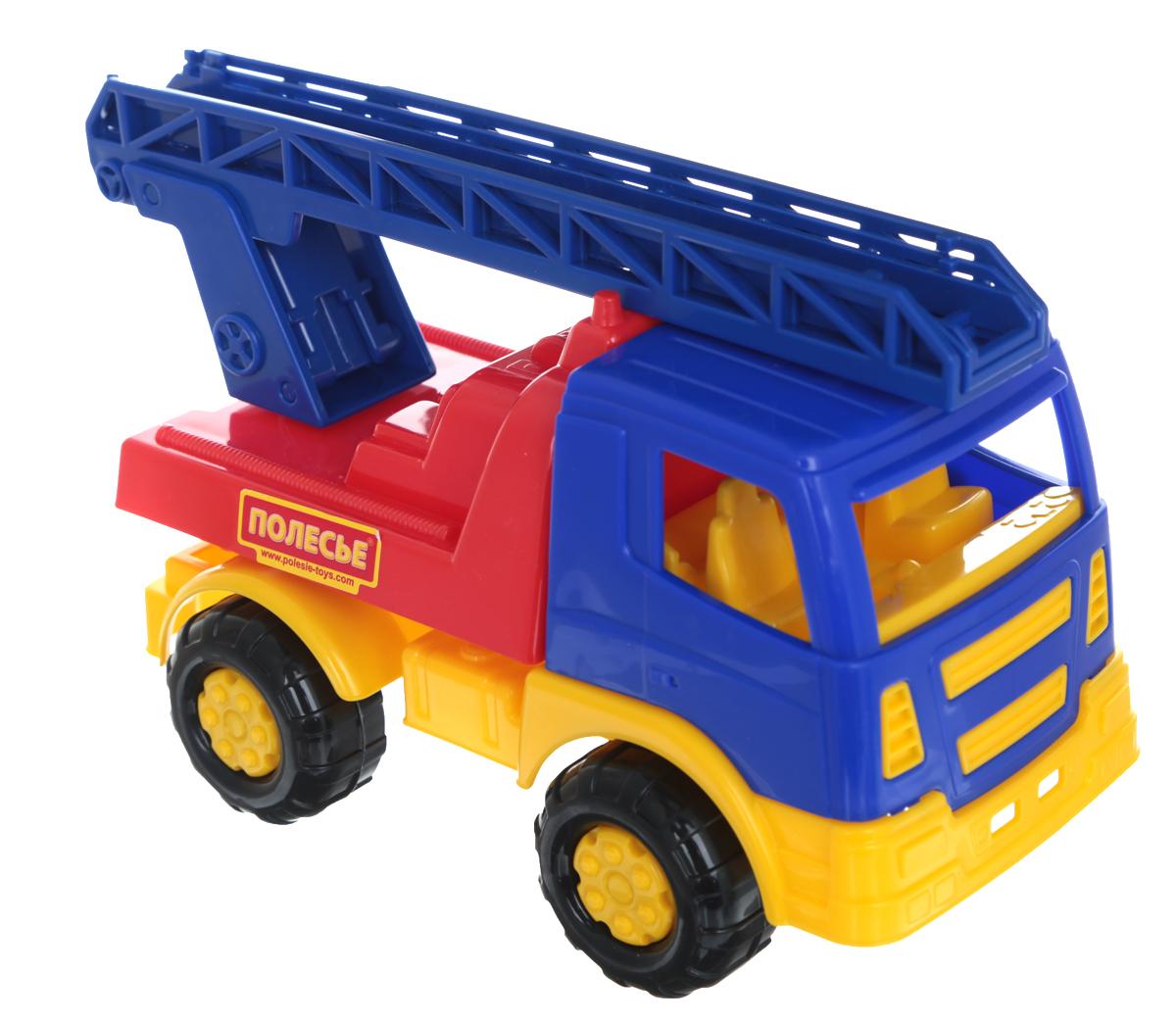 Полесье Пожарная спецмашина Салют цвет синий красный желтый8977_синий, красныйПожарная спецмашина Полесье Салют привлечет внимание вашего малыша и не позволит ему скучать, ведь так интересно и захватывающе покатать свою пожарную спецмашину. Яркий автомобиль, изготовленный из прочного безопасного пластика, отлично подойдет ребенку для различных игр. Колеса машины имеют свободный ход, лестница выдвижная. Порадуйте своего непоседу такой замечательной игрушкой!