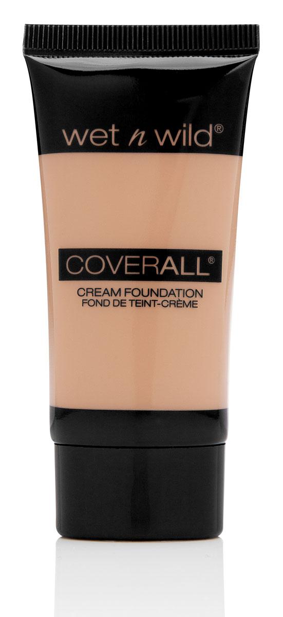 Wet n Wild Тональный крем Coverall, тон Light, 30 млE817Тональный крем от Wet n Wild Coverall будет выглядеть мягко и натурально на вашей коже. Благодаря своей кремовой текстуре, легко наноситься, распределяется по все поверхности кожи и не создает эффекта маски, а также противодействует процессу старения. Результат - натуральный, естественный цвет лица. Товар сертифицирован.