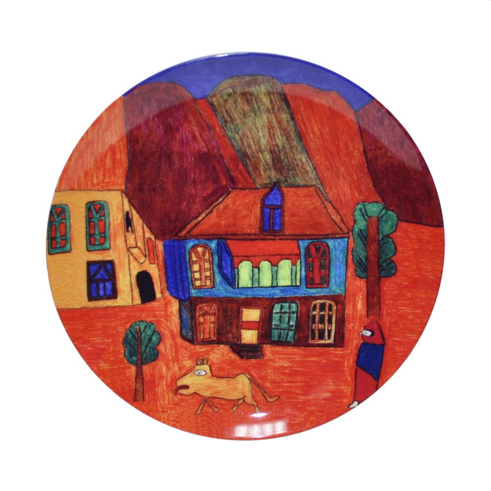 Тарелка c рисунком Восток