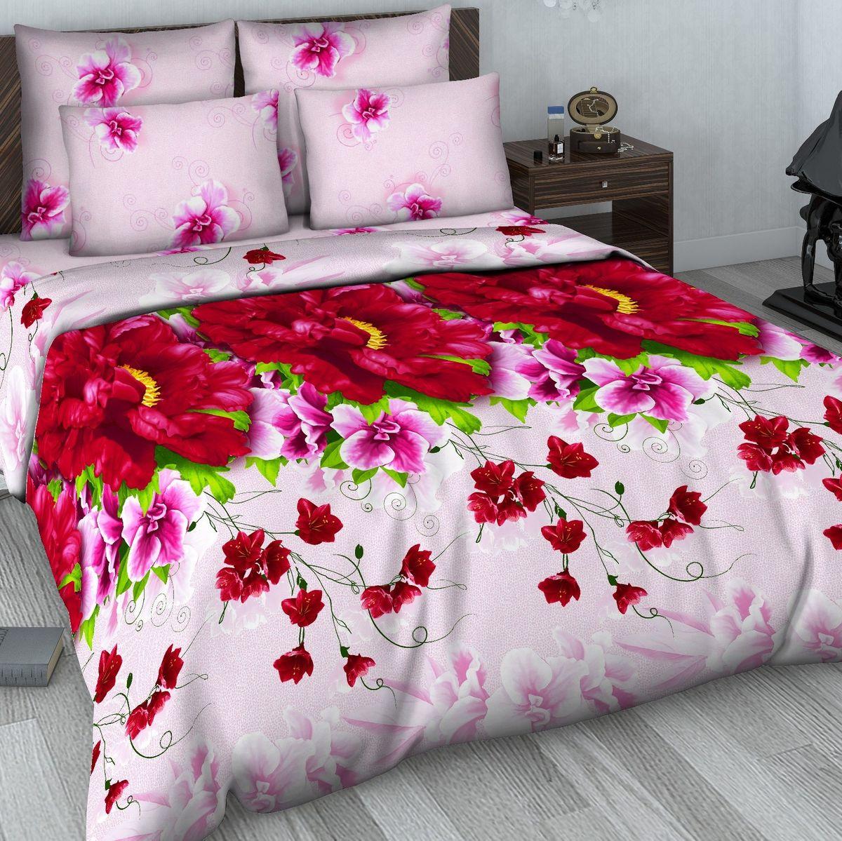 Комплект белья Василиса, 2-спальный, наволочки 70х70. 607/2