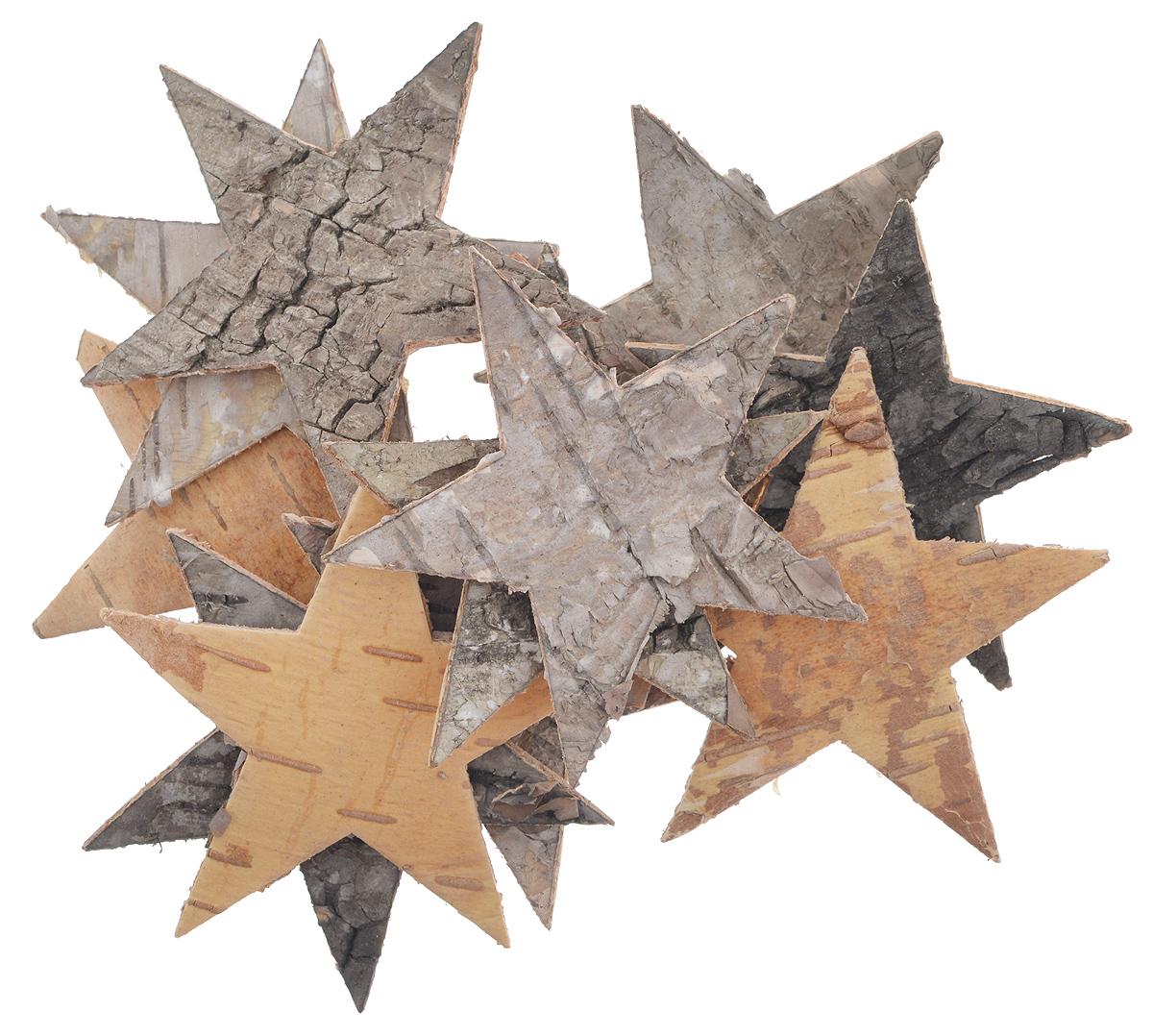 Декоративный элемент Dongjiang Art Звезда, цвет: натуральное дерево, 12 шт7709007_нат/деревоДекоративный элемент Dongjiang Art Звезда, изготовленный из натуральной коры дерева, предназначен для украшения цветочных композиций. Изделие выполнено в виде звезды, которое можно также использовать в технике скрапбукинг и многом другом. Флористика - вид декоративно-прикладного искусства, который использует живые, засушенные или консервированные природные материалы для создания флористических работ. Это целый мир, в котором есть место и строгому математическому расчету, и вдохновению. Размер одного элемента: 6,5 см х 5,5 см.