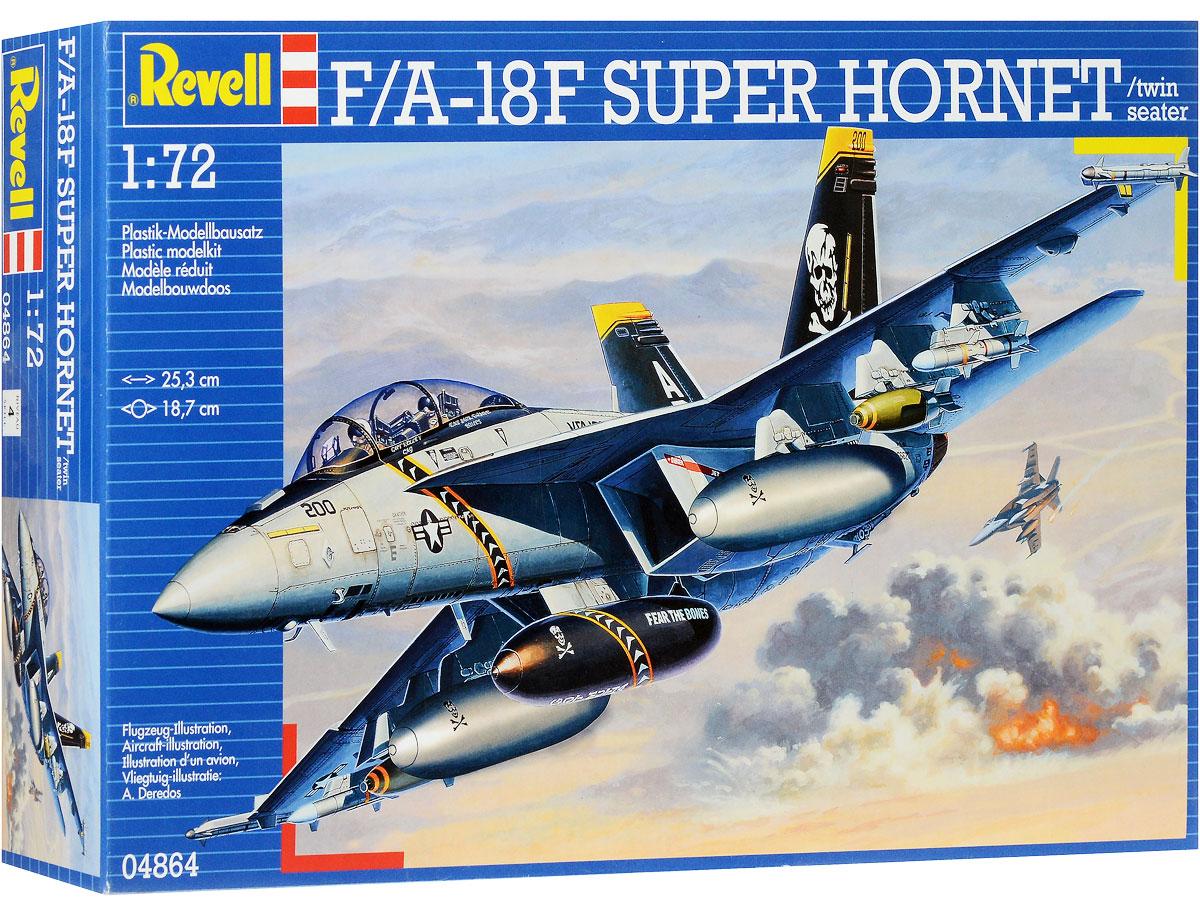 Revell Сборная модель Истребитель-бомбардировщик F/A-18F Super Hornet