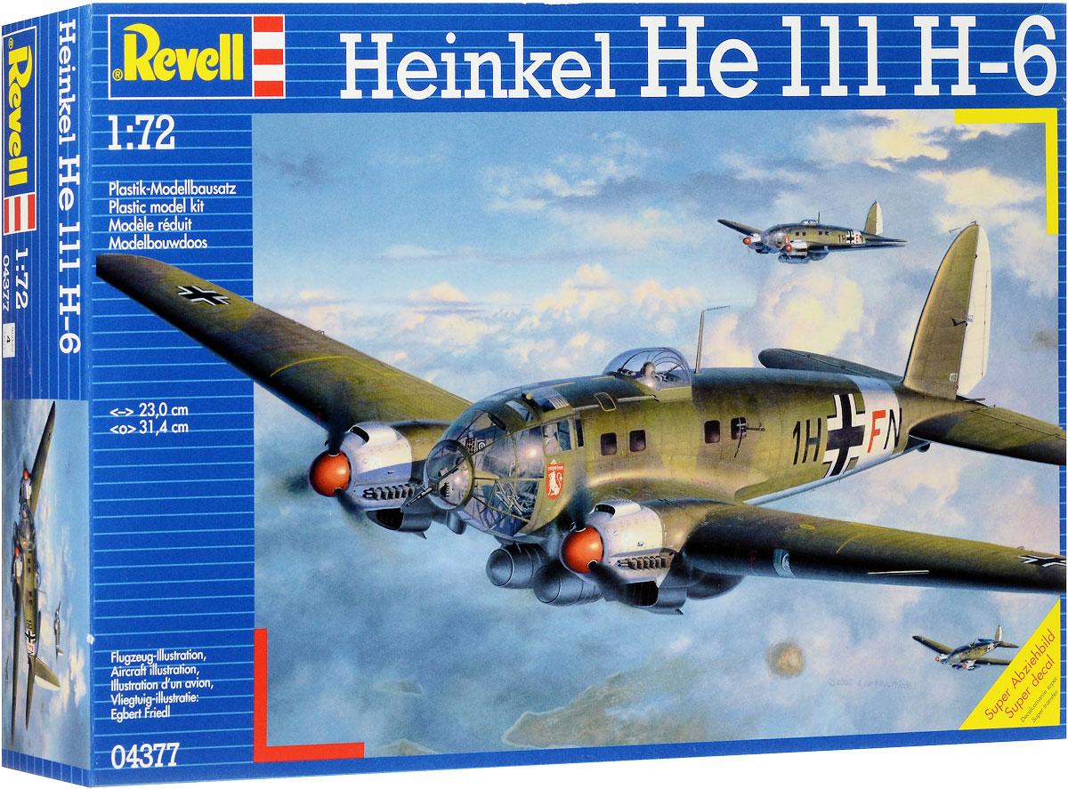 Revell Сборная модель Самолет Heinkel He 111 H-6