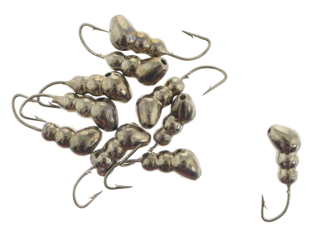 Мормышка вольфрамовая Dixxon-Russia, муравей с отверстием, цвет: черный никель, диаметр 3 мм, 0,41 г, 10 шт18879Мормышка Dixxon-Russia изготовлена из вольфрама и оснащена крючком. Главное достоинство вольфрамовой мормышки - большой вес при малом объеме. Эта особенность дает большие преимущества при ловле, так как позволяет быстро погрузить приманку на требуемую глубину и лучше чувствовать игру мормышки. Диаметр мормышки: 3 мм.