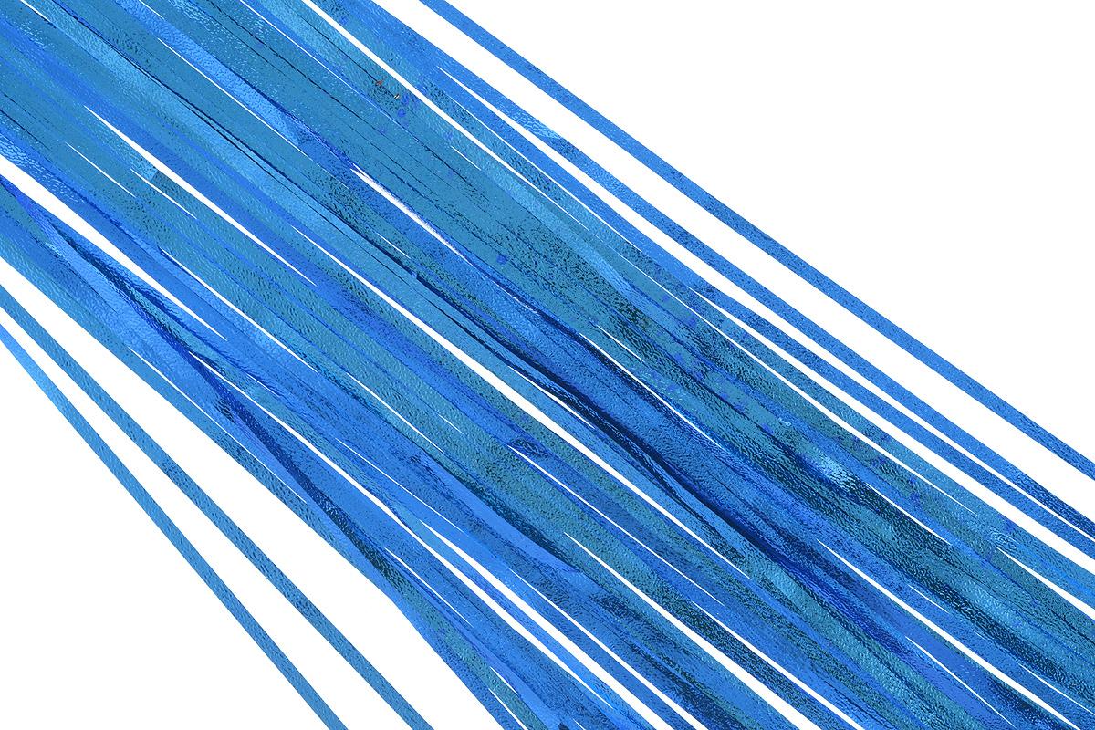 Дождик новогодний Sima-land, цвет: синий, 16 см х 180 см. 702550702550_синийДождик новогодний Sima-land, изготовленный из фольги, поможет вам украсить свой дом к предстоящим праздникам. Новогодняя елка с таким украшением станет еще наряднее. Новогодним дождиком можно украсить все, что угодно - елку, квартиру, дачу, офис - как внутри, так и снаружи. Можно сложить новогодние поздравления, буквы и цифры, дождиком можно украсить и дополнить гирлянды, можно выделить дверные колонны, оплести дверные проемы.