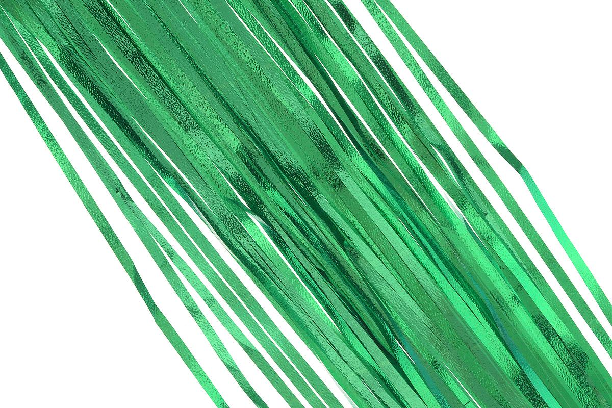 Дождик новогодний Sima-land, цвет: зеленый, 16 см х 180 см. 702550702550_зеленыйДождик новогодний Sima-land, изготовленный из фольги, поможет вам украсить свой дом к предстоящим праздникам. Новогодняя елка с таким украшением станет еще наряднее. Новогодним дождиком можно украсить все, что угодно - елку, квартиру, дачу, офис - как внутри, так и снаружи. Можно сложить новогодние поздравления, буквы и цифры, дождиком можно украсить и дополнить гирлянды, можно выделить дверные колонны, оплести дверные проемы.