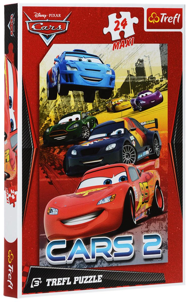 Trefl Пазл Разноцветные гонки14121Пазл Trefl Разноцветные гонки из популярного детского мультфильма Тачки 2 от известной компании Trefl станет хорошим подарком для мальчишек, которые обожают соревнования и высокую скорость. На картинке изображено 6 гоночных автомобилей, среди которых едет Молния Маккуин - самая лучшая в мире гоночная машинка. Размер готового пазла: 40 см х 60 см.