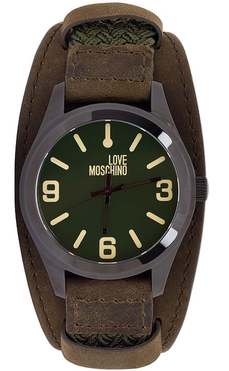 Часы наручные женские Moschino Take2, цвет: хаки. MW0412MW0412