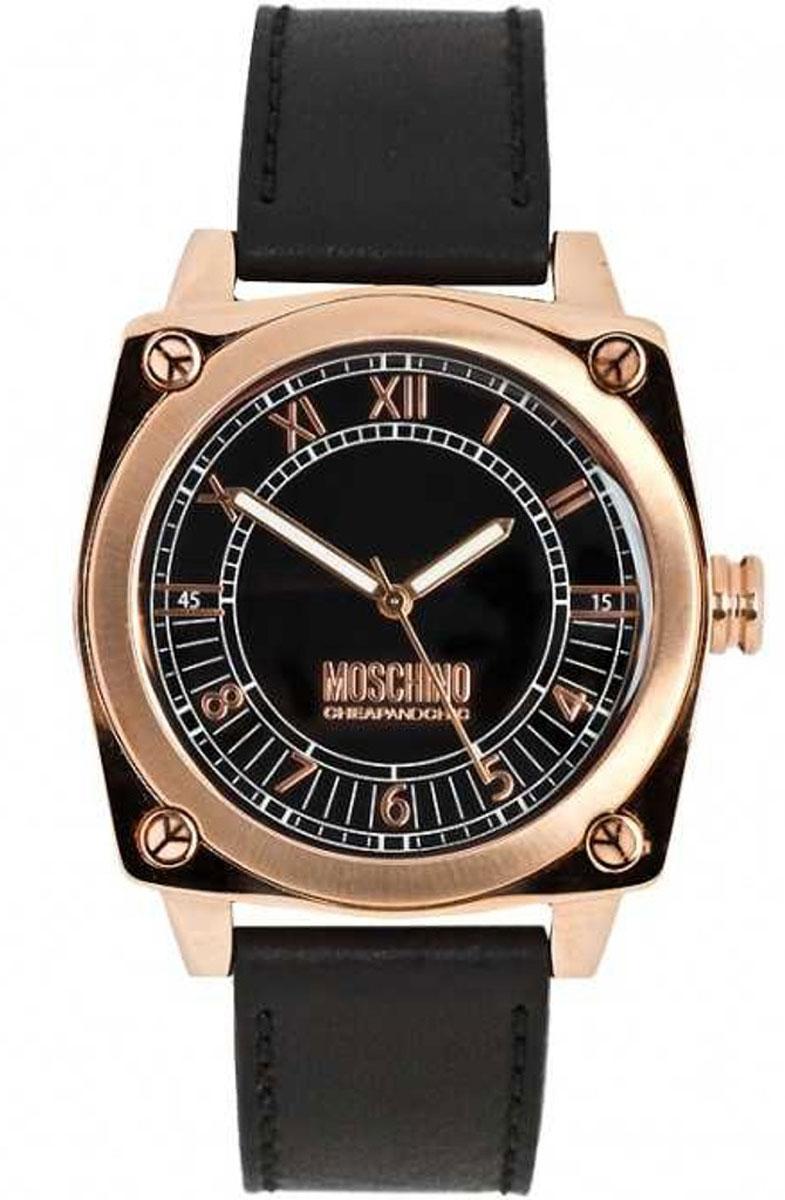 Часы наручные женские Moschino Snob, цвет: черный. MW0297MW0297