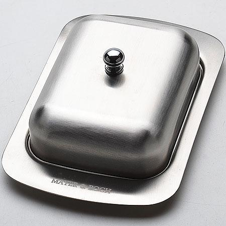 21261 Масленка МВ нержавейка (х24)21261Масленка с крышечкой материал:нерж.сталь размер упаковки:19,5х8х13см вес 293г
