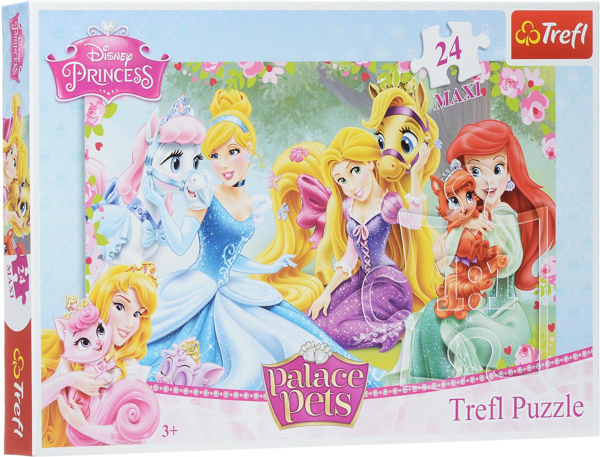 Trefl Пазл Прекрасные принцессы14223Пазл Trefl Прекрасные принцессы, без сомнения, придется по душе вашему ребенку. Собрав этот пазл, включающий в себя 24 элемента, ребенок получит картинку с изображением любимых героинь популярного мультфильма Диснея. Это оптимальное количество, которое делает пазл не слишком простым и не слишком сложным. Конечно же в первый раз вам нужно будет помочь малышке, однако вы удивитесь, как быстро она научится собирать картинку самостоятельно за рекордно короткое время! Собирание пазла поможет развить память, моторику рук, логику и усидчивость. Играть в пазл можно всей семьей или с друзьями. Главное начать, и тогда вы не сможете остановиться!