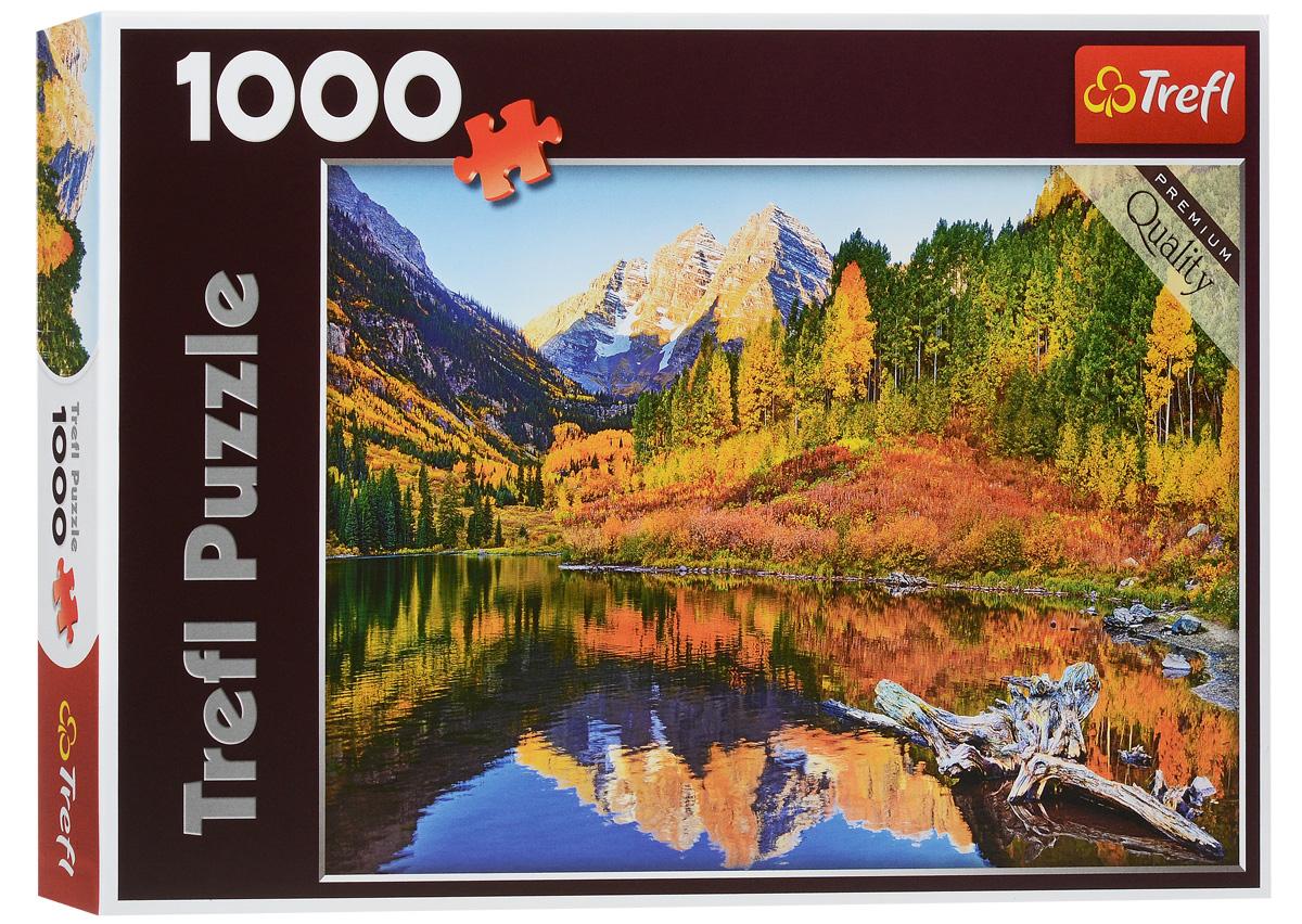 Trefl Пазл Аспен10353Пазл Trefl Аспен, без сомнения, придется вам по душе. Любите необычные пейзажи, от которых захватывает дух и бегут мурашки по коже? Тогда этот пазл придется вам по вкусу! Собрав замечательную картину из 1000 элементов, вы перенесетесь в Аспен - один из самых известных горнолыжных курортов в штате Колорадо. Скалистые горы Аспена и живописные осенние леса подарят вам тепло и умиротворение. Собирая большой пазл, вы сможете прекрасно провести время в кругу семьи, развивая логические навыки и внимательность, а также усидчивость. А собранная картина станет украшением вашего интерьера, привлекая внимание гостей своей необыкновенной красотой.