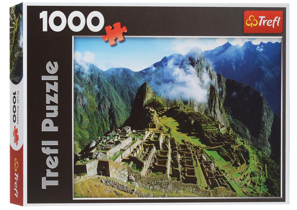 Trefl Пазл Мачу-Пикчу Перу10209NПазл Trefl Мачу-Пикчу. Перу, без сомнения, придется вам по душе. Собрав этот пазл, включающий в себя 1000 элементов, вы получите чудесный вид на Мачу- Пикчу, таинственный город инков, существовавший до пятнадцатого века. Руины древних зданий располагаются на склоне горного хребта, на высоте 2450 метров над уровнем моря - настолько близко к небу, чтобы их нередко укутывают облака. Соедините все детали вместе, и насладитесь чудесным пейзажем. Чтобы справиться с задачей вам будет необходимо приложить немалую долю внимания и терпения. Вы сразу поймете, подходят ли детали друг к другу, за счет уникальной резки каждого элемента. А качественный материал не позволит вашей картине потускнеть с течением времени. Собирание пазла поможет развить память, моторику рук, логику и усидчивость.