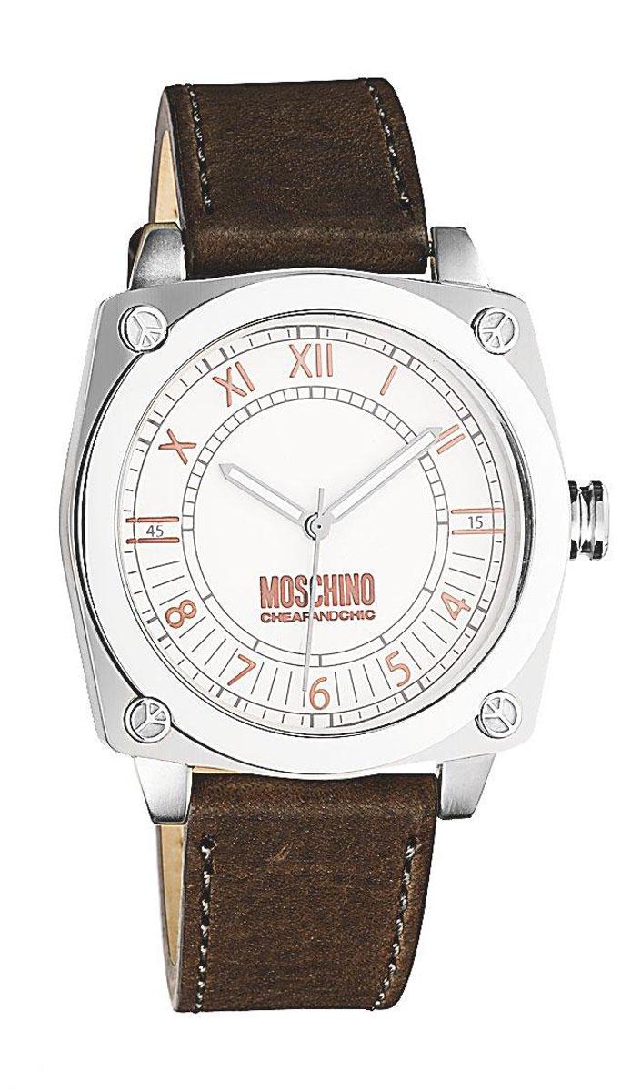 Часы наручные женские Moschino Snob, цвет: коричневый. MW0296MW0296